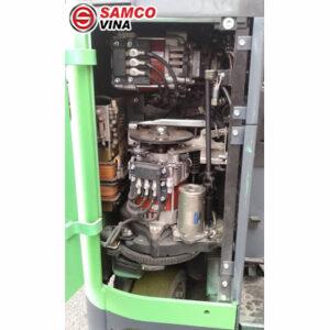 động cơ xe nâng điện cũ 1.5 tấn toyota FBR15