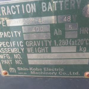 thông số ắc quy xe nâng điện 1.5 tấn