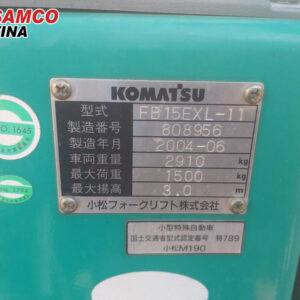 thông số xe nâng điện 1.5 tấn
