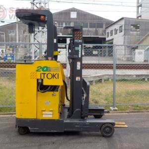 Xe nâng điện Komatsu 2 tấn đứng lái (cũ)