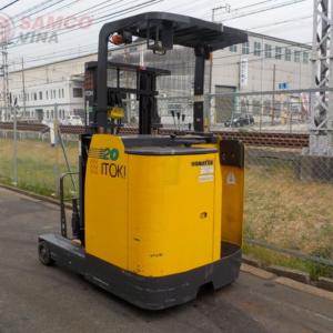 Xe nâng điện Komatsu 2 tấn đứng lái có giá thành hợp lý
