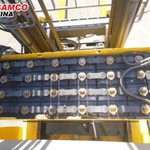 bình điện xe nâng điện komatsu 1.5 tấn