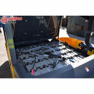 bình điện xe nâng komatsu FB25