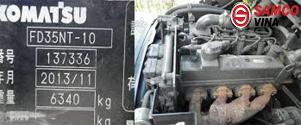 động cơ xe nâng 3.5 tấn