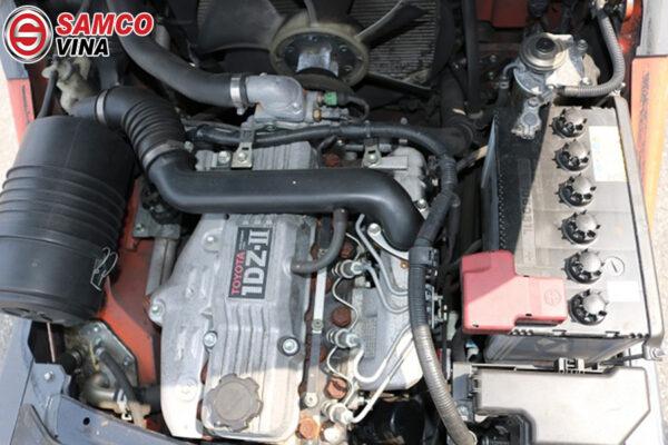 Động cơ xe nâng Toyota mạnh mẽ hoạt động bền bỉ