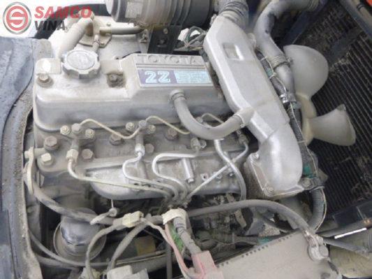 động cơ xe nâng dầu toyota 2 tấn