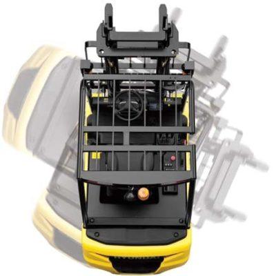 Hệ thống curve xe nâng điện 2 tấn