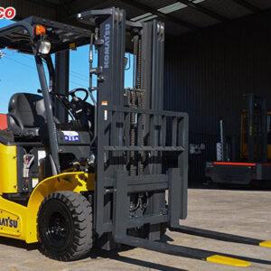 khung nâng xe nâng điện 2.5 tấn komatsu