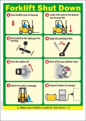 An toàn khi vận hành xe nâng