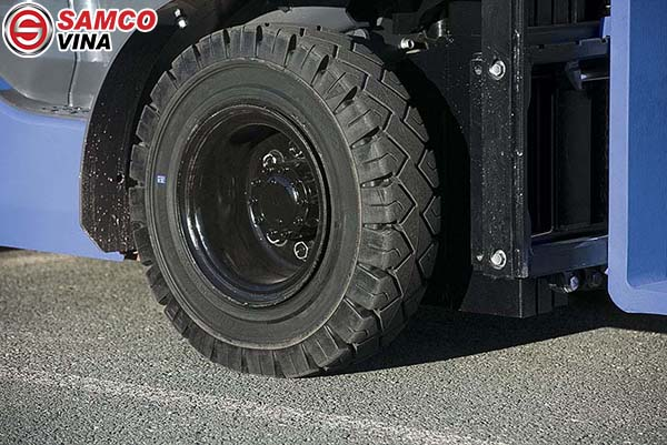 ứng dụng lốp xe nâng