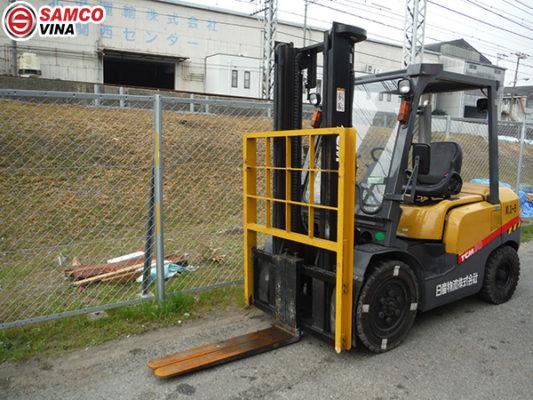 ứng dụng xe nâng tcm 3 tấn