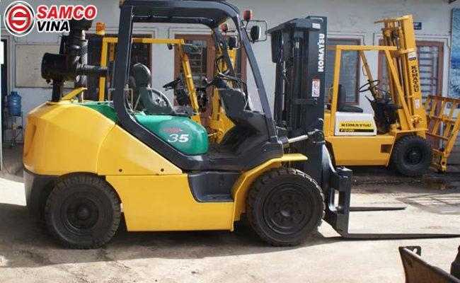 ưu điểm xe nâng komatsu 3.5 tấn FD35NT