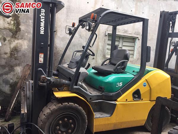 Kích thước xe nâng Komatsu 3.5 tấn giá rẻ tại