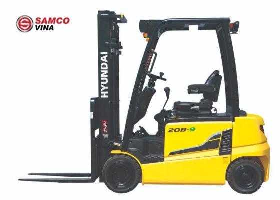 Xe nâng điện Hyundai 2 tấn