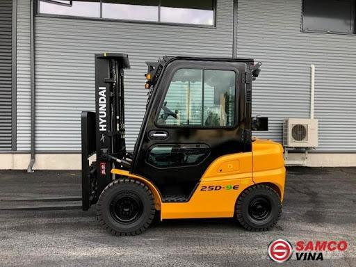 Xe dầu Hyundai 2.5 tấn 25D-7SA