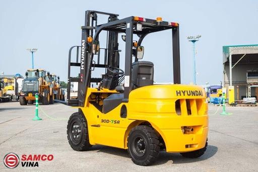 Xe dầu Hyundai 3 tấn 30D-7SA