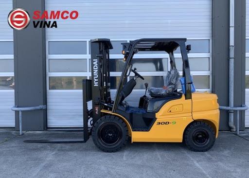 Xe nâng dầu Hyundai 3 tấn 30D-9