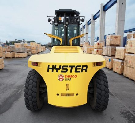 Xe nâng dầu Hyster 25 tấn