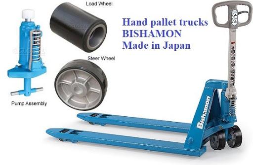 Xe nâng tay của Bishamon BM-25LL rất chất lượng.