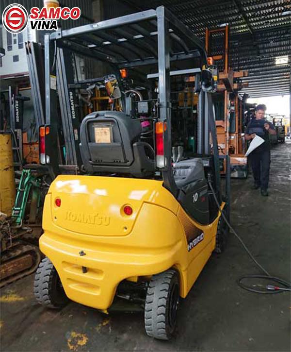 ưu điểm xe nâng điện 1 tấn
