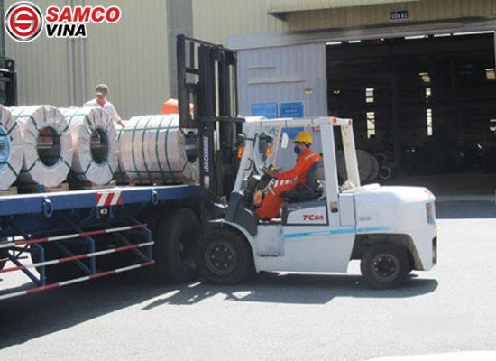 ưu điểm xe nâng dầu TCM FDT9