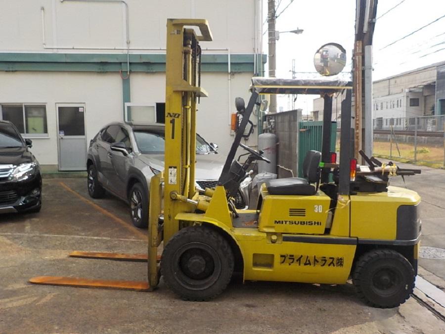 Xe nâng 3 tấn Mitsubishi FD30