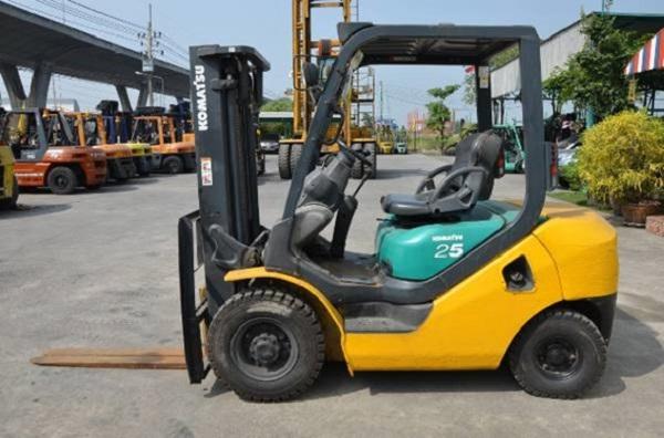 Xe nâng Komatsu cũ 2.5 tấn
