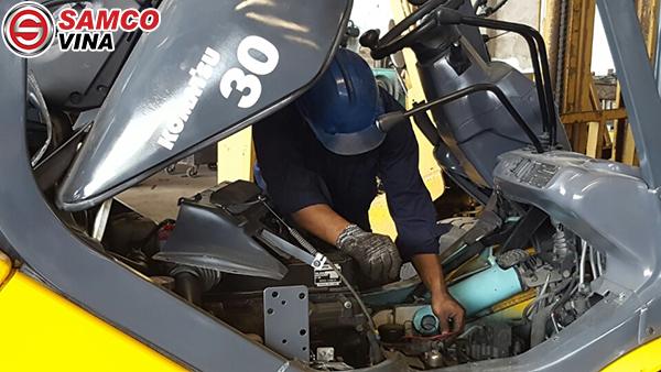 hướng dẫn sửa xe nâng điện