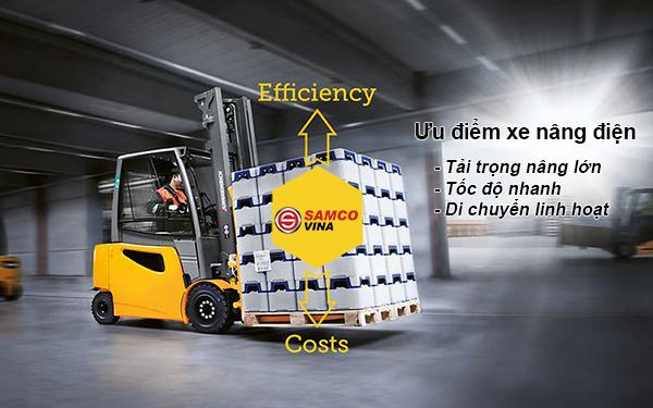 Xe nâng dầu tải trọng cao