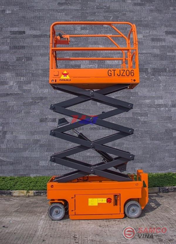 Thiết kế của thang nâng người