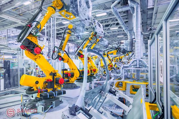 Máy móc, thiết bị được phân loại phụ thuộc vào nhiều yếu tố