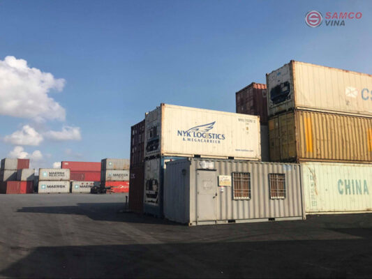 Mua container cũ giúp tiết kiệm chi phí