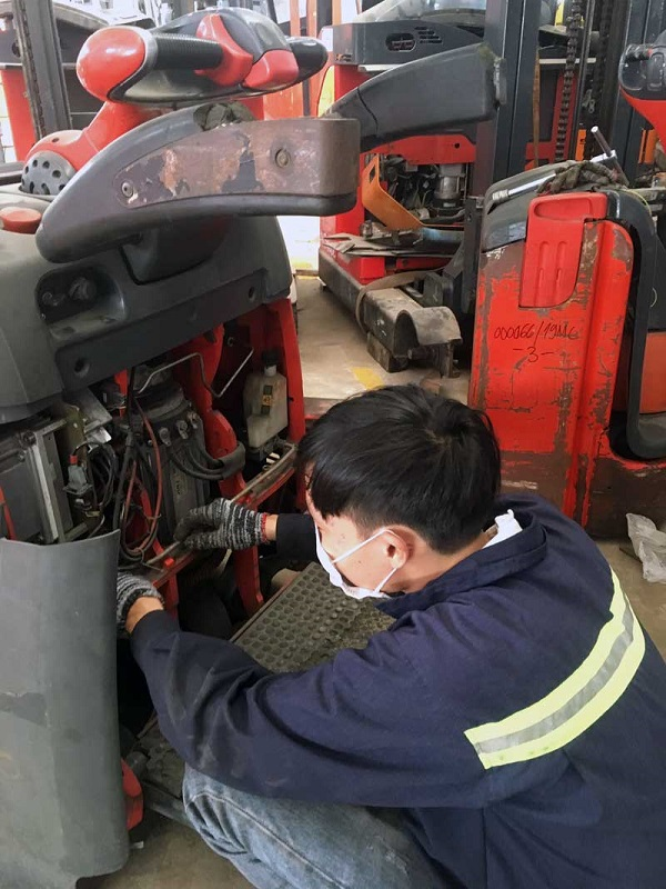 Sửa chữa xe nâng điện đảm bảo chất lượng tốt nhất