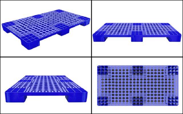 Pallet nhựa được thiết kế phụ thuộc vào tính năng sử dụng