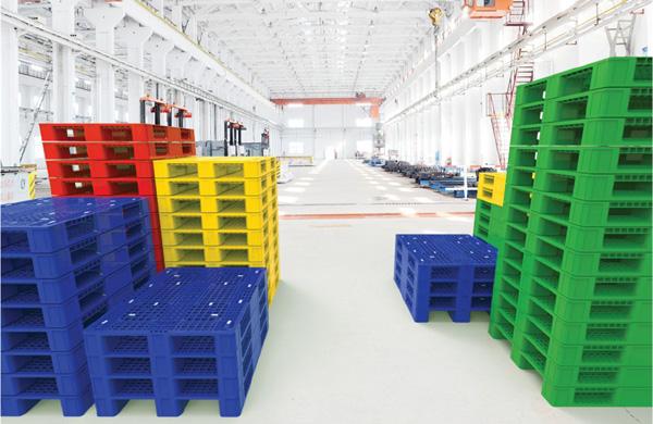 Pallet được thiết kế dưới nhiều màu sắc khác nhau