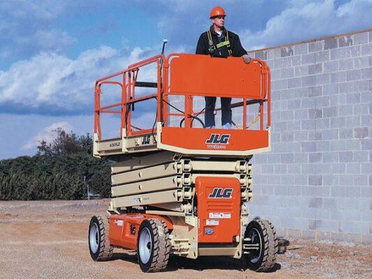 Loại xe JLG chiều cao làm việc 4m – 18m